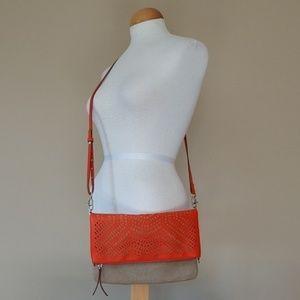 [Stella&Dot] NWOT Leather, Canvas Waverly Purse